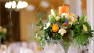 decorated table wedding