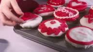 HD: Dekorieren Valentine's und Gebäck
