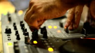 DeeJay On A Party Mixing Music