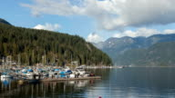 Deep Cove Hyperlapse / timelapse of a beautiful spring day (4K)