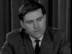 Defence Minister Denis Healey interview on cuts in defence ***ALSO London Defence Ministry SOF Very difficult to be accuarte I would say more than a...