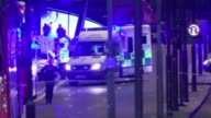 Defence Secretary Sir Michael Fallon talks of the British role in defeating Islamic State 362017 Ambulance arriving at the scene of terrorist attack...
