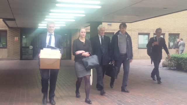 Defendant Carl Rogberg leaves court Along with two other Tesco bosses he is accused of failing to correct inaccurately recorded income figures which...