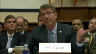 Defense Secretary Ashton Carter tells house armed services Chairman Mack Thornberry that recruiting and intelligence inside Iraq in recent months had...