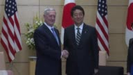 US Defense Secretary James Mattis meets Japanese Prime Minister Shinzo Abe in Tokyo on his first visit since the inauguration of US President Donald...
