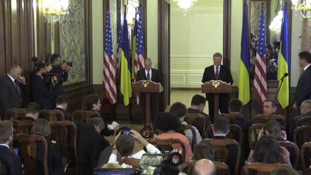 US Defense Secretary Jim Mattis said Thursday the United States was committed to helping Ukraine's military and sanctions against Russia would remain...