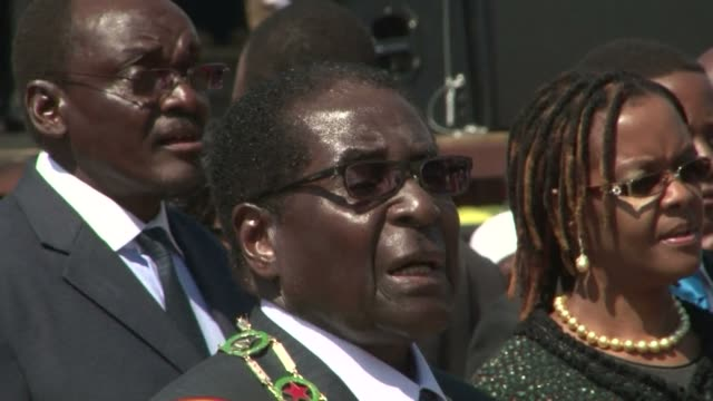 A defiant Robert Mugabe on Monday told those upset by his disputed landslide election win to go hang vowing his victory would never be overturned...