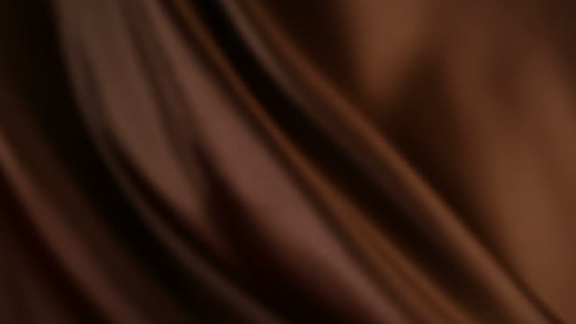 Defocused brown silk