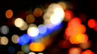 Defocused Car Lights