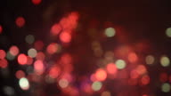 HD1080 - Defocused firework display