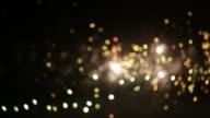 Defocused Firework Explosion