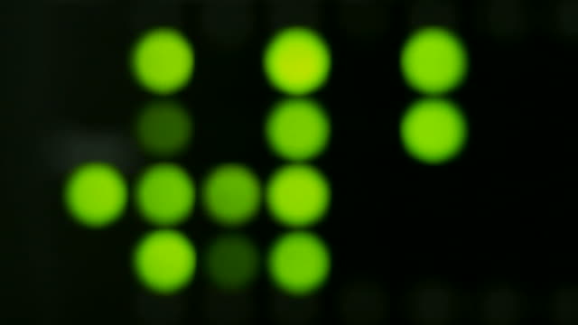 Defocused LED
