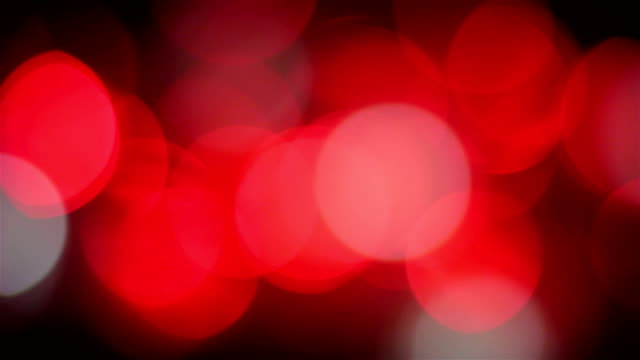 Defocused light reflections loopable background