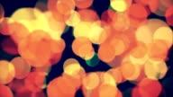 Defocused lights, Bokeh, Flare, Christmas Lights