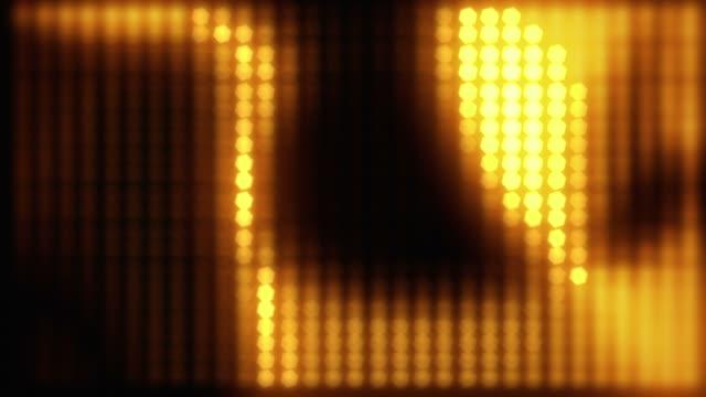 Defocused lights loopable