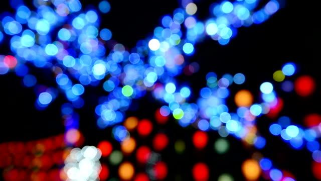Unscharf mehrfarbig Light