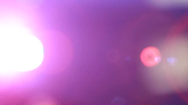 defocused pink and flare - Stock Video