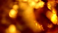 Defocused precious gems sparkling