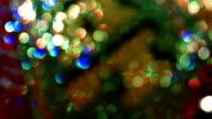 Unscharf gestellt abstrakte Lichter Hintergrund rotierenden