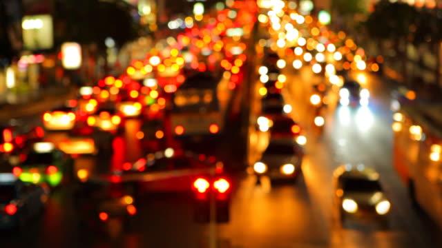 Unscharf gestellt Verkehr