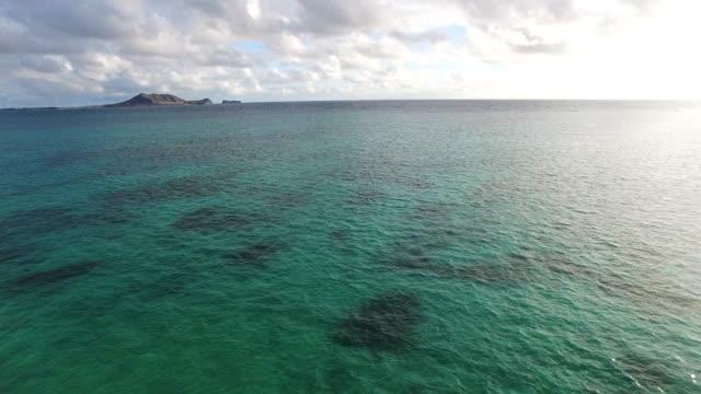 360 degree, Hawaii beach, aerial