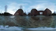 'A 360 degrees look inside AuschwitzBirkenau the largest Nazi death camp which was liberated on 27 January 1945 Holocaust Memorial Day is the day for...