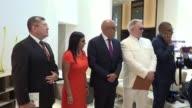 Delegados del gobierno y la oposicion venezolana se reunieron el miercoles en Republica Dominicana por invitacion del presidente Danilo Medina y el...