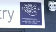 Delegates at the penultimate day of the World Economic Forum made their way through the snow in the Swiss resort of Davos on Friday for another day...