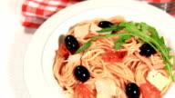 Delicious  Spaghetti Puttanesca