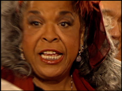 Della Reese at the NAACP Image Awards at Pasadena Civic Auditorium in Pasadena California on February 12 2000