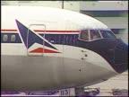 Delta Passenger Plane Taxiing to Runway