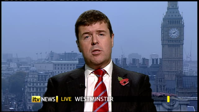 new government awareness campaign ENGLAND London GIR / Westminster INT Paul Burstow MP LIVE 2WAY interview from Westminster SOT need to make people...