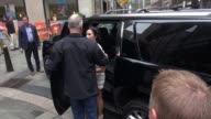 Demi Lovato arrives at the 'TODAY' show in Celebrity Sightings in New York
