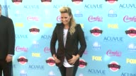 Demi Lovato at 2013 Teen Choice Awards Arrivals on 8/11/2013 in Universal City CA