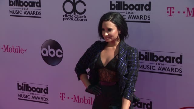 Demi Lovato at 2016 Billboard Music Awards Arrivals at TMobile Arena on May 22 2016 in Las Vegas Nevada