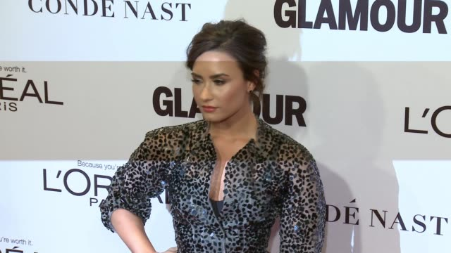 Demi Lovato at Glamour's 2016 Women of the Year at NeueHouse Hollywood on November 14 2016 in Los Angeles California