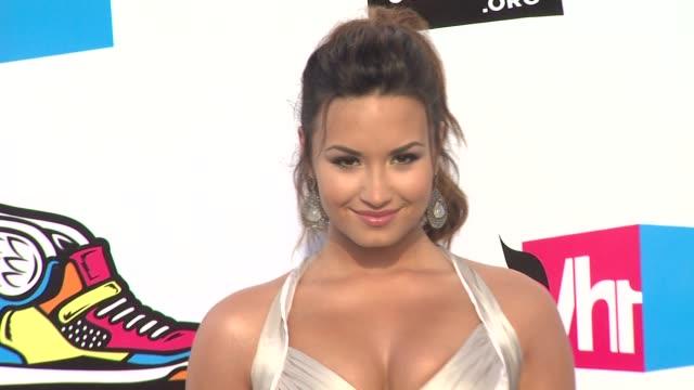 Demi Lovato at the 2011 VH1 Do Something Awards at Hollywood CA