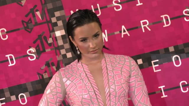 Demi Lovato at the 2015 MTV Video Music Awards at Microsoft Theater on August 30 2015 in Los Angeles California