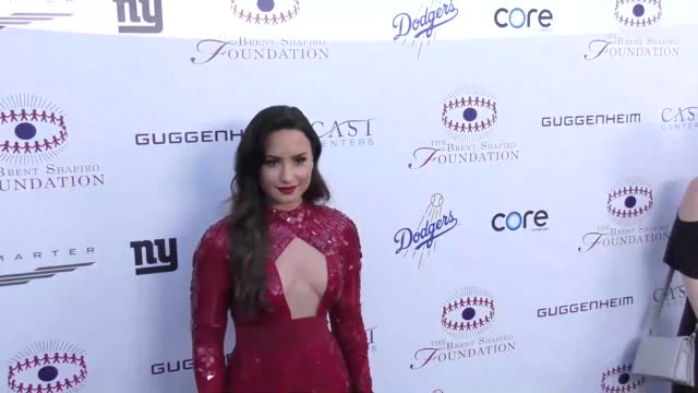 Demi Lovato at The Annual Brent Shapiro Foundation For Alcohol And Drug Prevention Summer Spectacular on September 09 2017 in Beverly Hills California