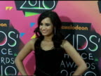 Demi Lovato at the Nickelodeon's 23rd Annual Kids' Choice Awards Arrivals Part 2 at Los Angeles CA