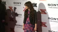 Demi Lovato at The X Factor Viewing Party Sponsored By Sony X Headphones on in Los Angeles CA