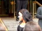 Demi Lovato outside the Trump International Hotel in New York at the Celebrity Sightings in New York at New York NY