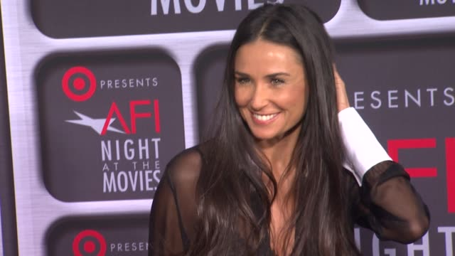 Demi Moore at Target Presents AFI Night At The Movies on 4/24/13 in Los Angeles CA
