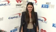 Demi Moore at the KIIS FM's iHeartRadio Jingle Ball 2015 at Staples Center on December 4 2015 in Los Angeles California