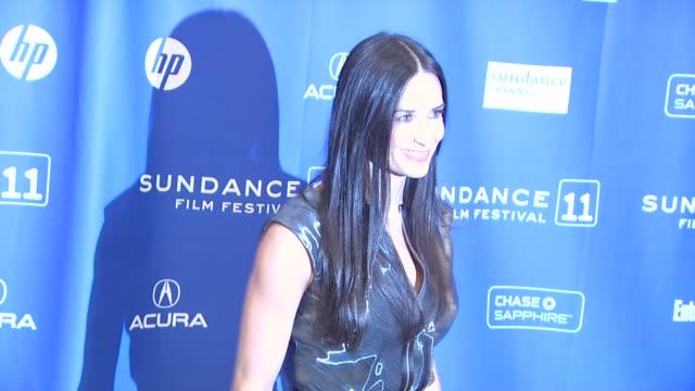 Demi Moore at the 'Margin Call' Premiere 2011 Sundance Film Festival at Park City UT