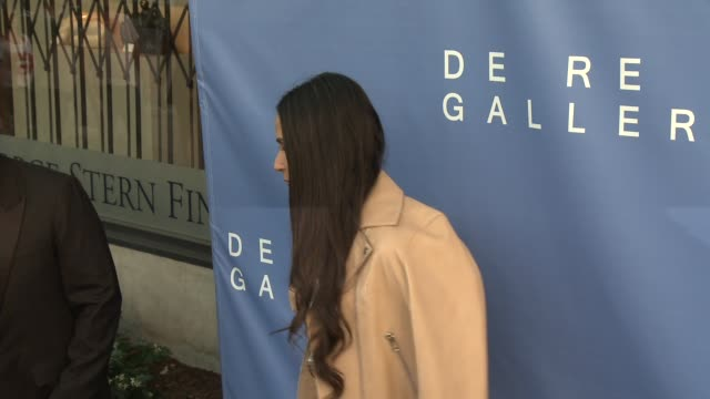 Demi Moore Brian Bowen Smith at De Re Gallery Opens Its Doors With A Sophisticated Celebration Of Art Culture in Los Angeles CA