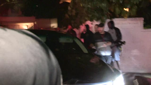 Demi Moore departs the Chateau Marmont in West Hollywood Celebrity Sightings in Los Angeles on May 05 2014 in Los Angeles California