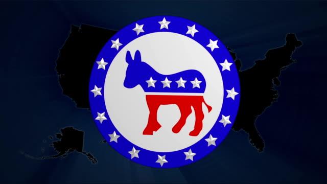 Demokraten & Republikaner Wahl stimmen