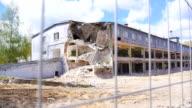 Demolished building.
