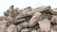 MS Demolition of apartment block / Saarburg, Rhineland-Palatinate, Germany